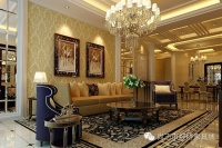 歐式客廳裝飾效果圖