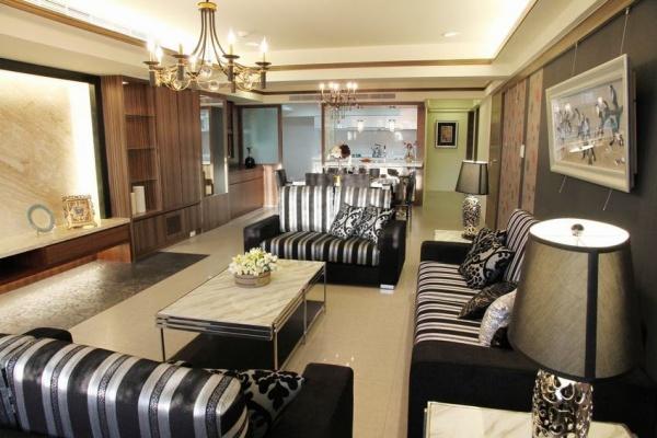 现代别墅豪华客厅装修效果图片