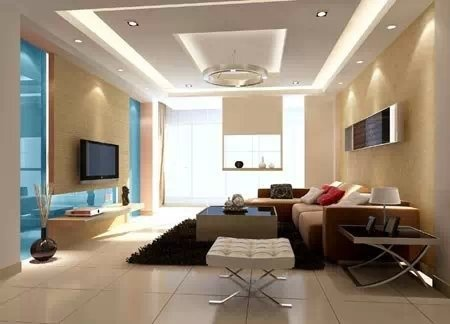 客厅吊顶装修效果图 给你美的享受图片