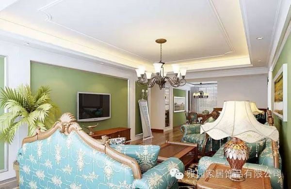 效果图:中式风格   客厅吊顶家装效果图:新中式风格   装饰