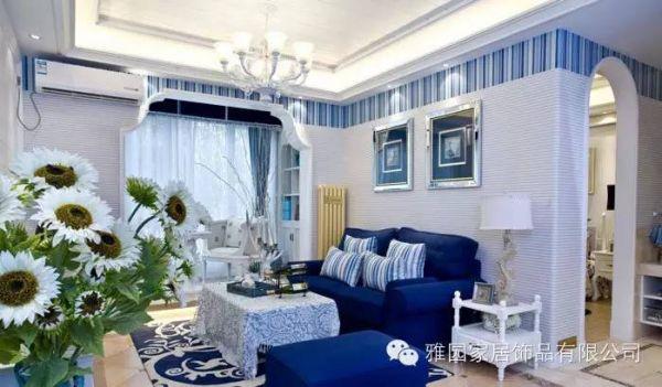 雅园饰界分享 2015最新设计 客厅吊顶家装效果图让客厅更出彩
