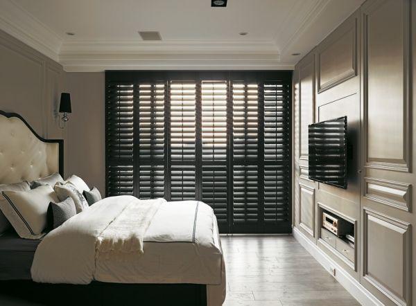 美式住宅卧室装修设计效果图片
