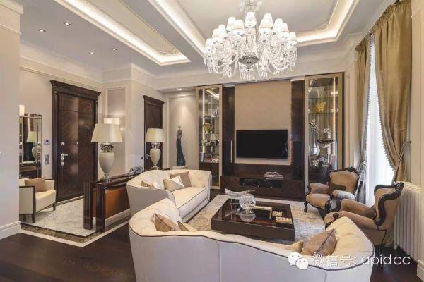 欧式古典风格住宅装修设计