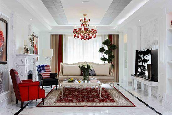 80㎡小户型客厅装修大巡展 简约欧式田园5种风格来PK