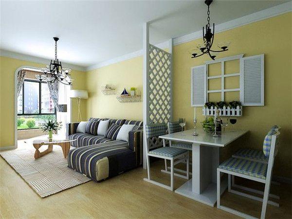 小戶型客廳簡約電視背景墻設計 新款客廳裝修效果圖