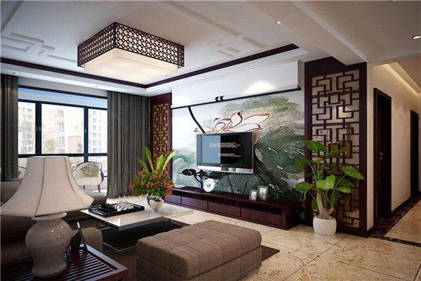 中式风格客厅装修效果图2016图片大全_中式风格客厅装修效果图案例