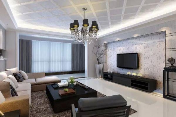 35款新款吊顶设计室内装修效果图 客厅卧室餐厅都能用!