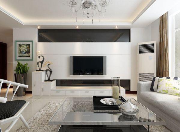 客厅装修案例 > 大客厅电视墙效果图2016图片大全_大客厅电视墙效果图