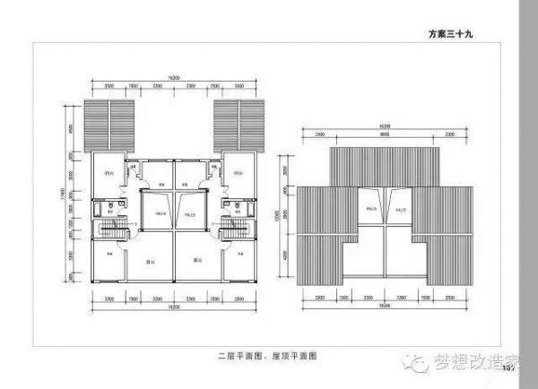 7X16地基自建房设计图