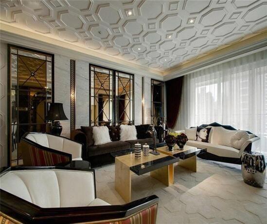 客厅装修欧式效果图欣赏_客厅装修欧式2016图片大全