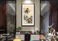 中式装修客厅挂什么画好 山水画助你打造品味居室