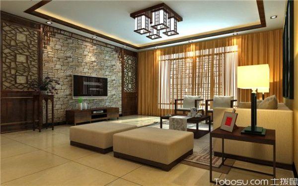 客廳瓷磚鋪貼