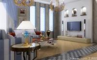 中式古典客廳吊頂材料,注意什么事項