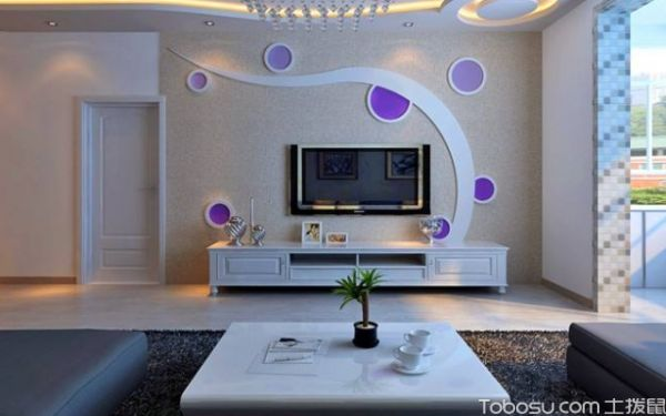 客厅家装吊顶装修效果图