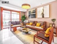 新中式客厅软装这样搭,老婆乐得笑开花