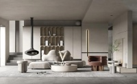 客厅怎么装修?升华陶瓷600×1200mm通体大理石瓷砖,让家颜值翻倍!