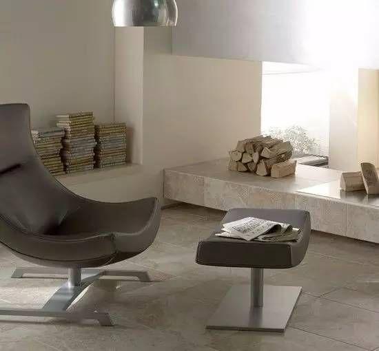客厅地板砖效果图:复古装饰的奢华(装修效果图)家居