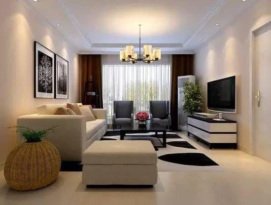 客廳地板磚效果圖:簡約時尚灰色紋理搭配