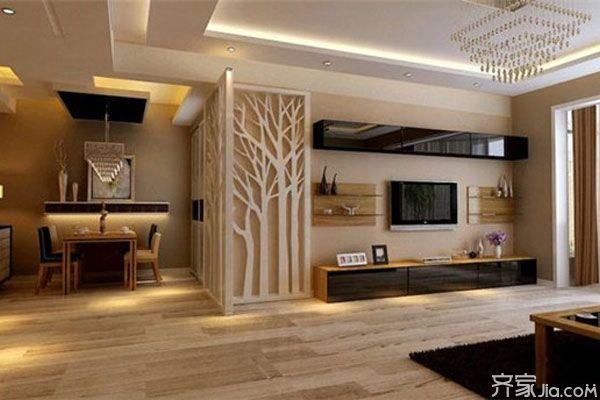 最新客厅电视背景墙效果图 各种风格大比拼_客厅装修
