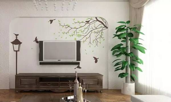 100款现代简约小户型客厅电视背景墙装修效果图