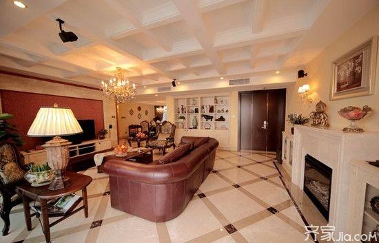客厅梁的处理 3招美化客厅横梁设计