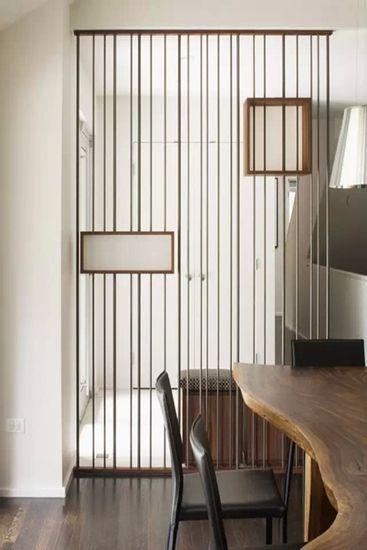 客厅镂空隔断设计 给客厅完美的风景