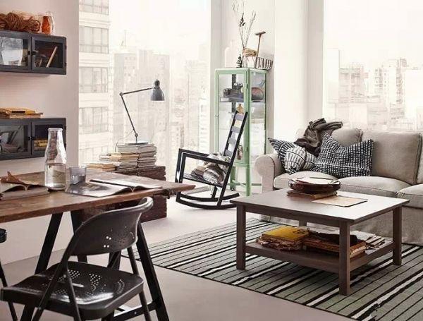 装修效果图 宜家风格客厅 客厅装修效果图