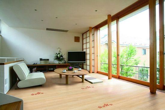 客厅实木复合地板装修和卧室地板的装修效果图,让大家欣赏学