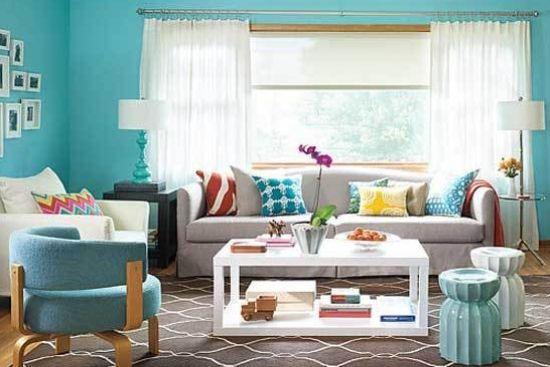 客厅带飘窗设计装修效果图大全,让大家先学习别人家的客厅,学