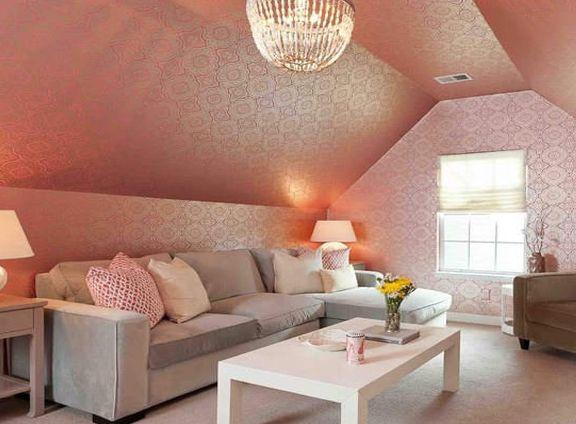 粉色客厅 如梦似幻满足你的少女心