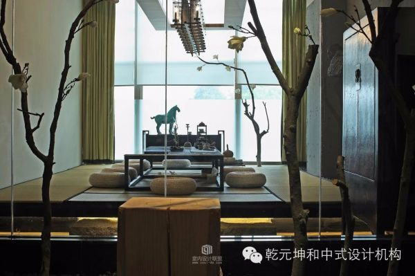 设计欣赏——三和深圳茶室