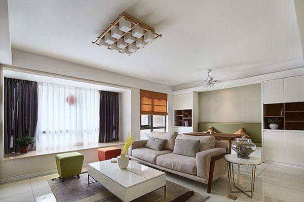 空间越小魅力越大 教你如何巧装小户型客厅