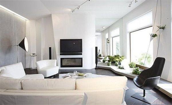 18款简约风格客厅装修效果图欣赏 简约之美更耐看!