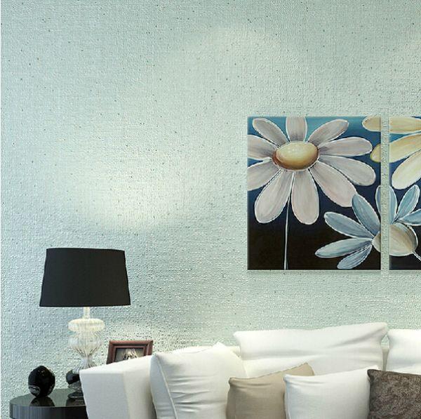 2015典雅欧式硅藻泥沙发电视背景墙效果图 客厅背景装修指南