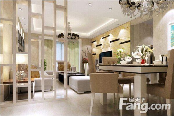 客厅餐厅效果图设计方案_客厅餐厅效果图大全  想要家居空间规划,分区