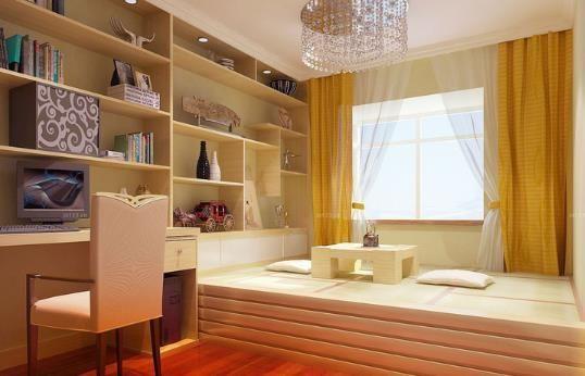 创意设计实例  榻榻米装修这一装逼神器来啦,21款现代简约小户型卧室