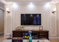 客厅万万不要装电视墙了,有钱人都流行这种设计,看完回家效仿