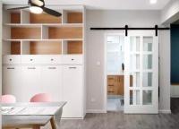 58平的北欧风小户型公寓,一个餐厅顶两个客厅