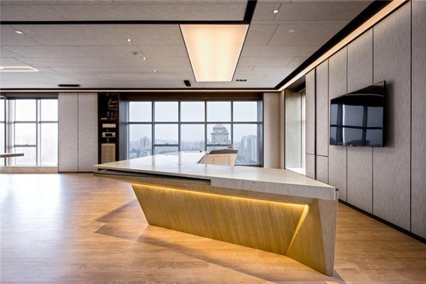 现实版的超时空,未来感办公室  近200平方米的设计总监办公室,基本