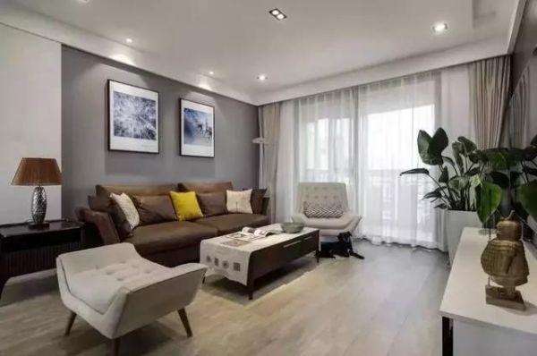 客厅窗帘怎么选?颜色搭配对是重点!