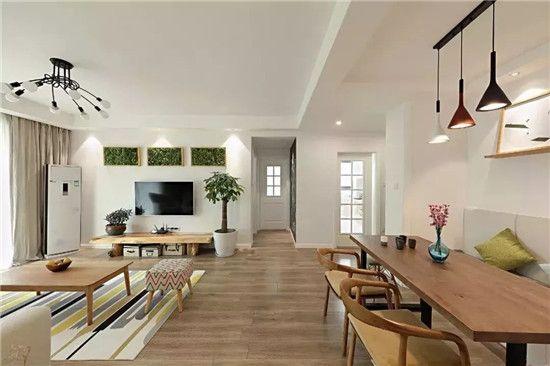客厅连着餐厅,如何分割空间才合理?