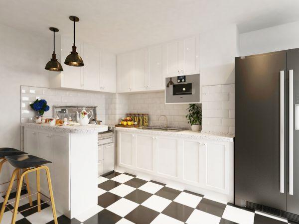 厨房、客厅or餐厅?哪里最适合放冰箱?朋友说我不懂