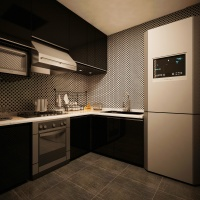 廚房、客廳or餐廳?哪里最適合放冰箱?朋友說我不懂