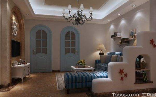 客厅吸顶灯如何搭配