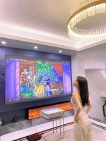 电视、投影仪和激光电视,谁才是客厅装修之王?