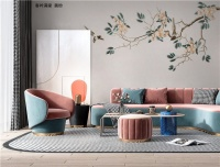 【领绣·菁华】客厅背景墙设计 参考这9组走心搭配 打造时尚个性天地